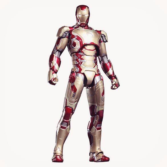 Iron Man Mark 42 Figure Diecast 1/6 Scale Collectible