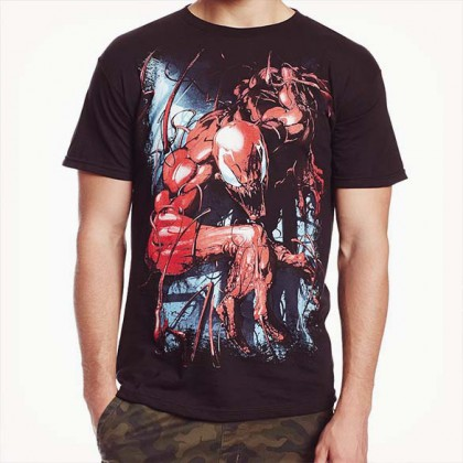 Spiderman Carnage T-Shirt - Marvel - Mayhem and Murder Graphic Tee