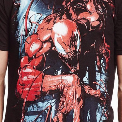 Marvel Carnage T-Shirt - Spiderman Graphic Tee