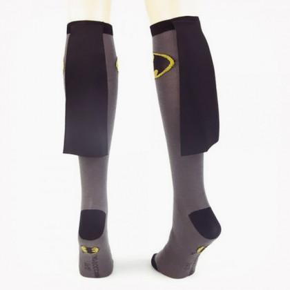 Batman Cape Socks - Grey DC Comics Women's Batman Cape Socks