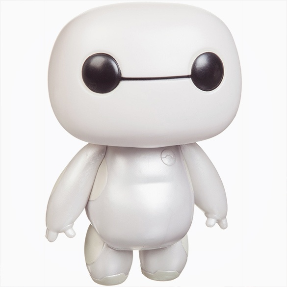 Baymax Pop! Bobblehead Figure - Collectible Big Hero 6 Baymax Bobblehead Figure