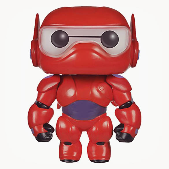Baymax Pop! - Big Hero 6 Armored Baymax Collectible Bobblehead Figure
