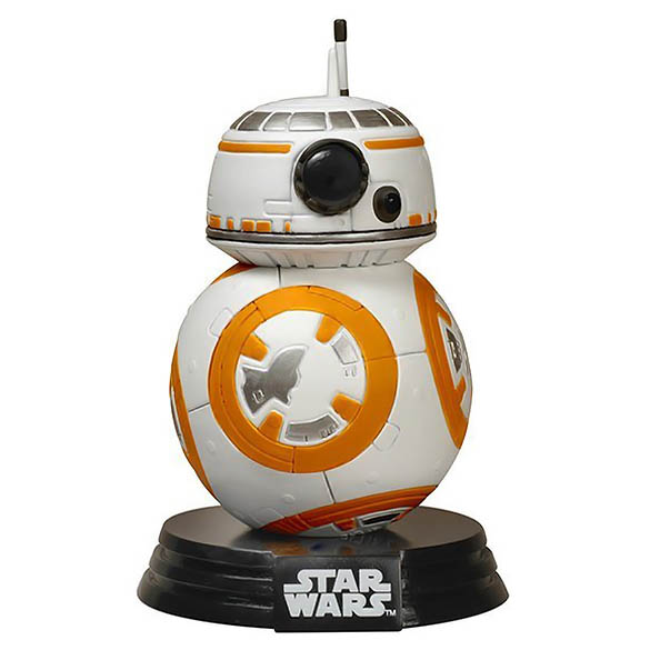 BB-8 Pop! Figure - Collectible Star Wars Bobblehead Figure - Force Awakens BB-8