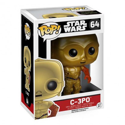 C3PO Pop! Bobblehead - Star Wars - The Force Awakens Collectible - C3PO Pop Figure