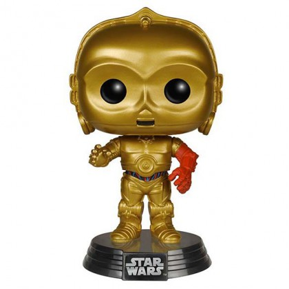 C3PO Pop! Figure - Star Wars - The Force Awakens Collectible - C3PO Pop Bobblehead Figure