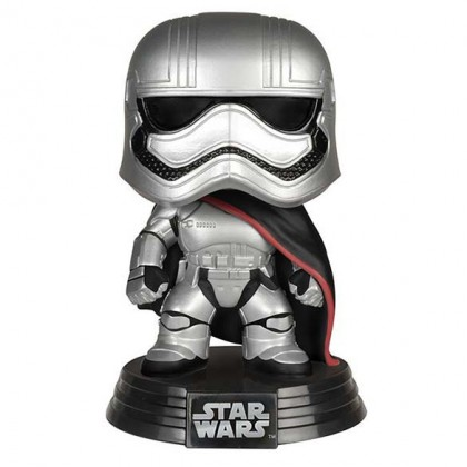 Captain Phasma Pop! Figure - The Force Awakens - Star Wars Captain Phasma Pop Collectible Bobblehead