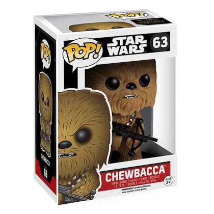 Chewbacca Pop! Figure - Star Wars The Force Awakens Collectible Chewbacca Bobblehead figure