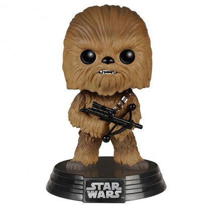 Chewbacca Pop! Collectible Star Wars The Force Awakens Chewbacca Bobblehead Figure