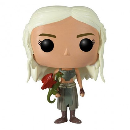 Daenerys Pop! Figure - Game of Thrones Daenerys Targaryen Collectible Bobblehead Figure