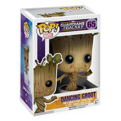 Dancing Groot Pop - Guardians of the Galaxy Bobblehead