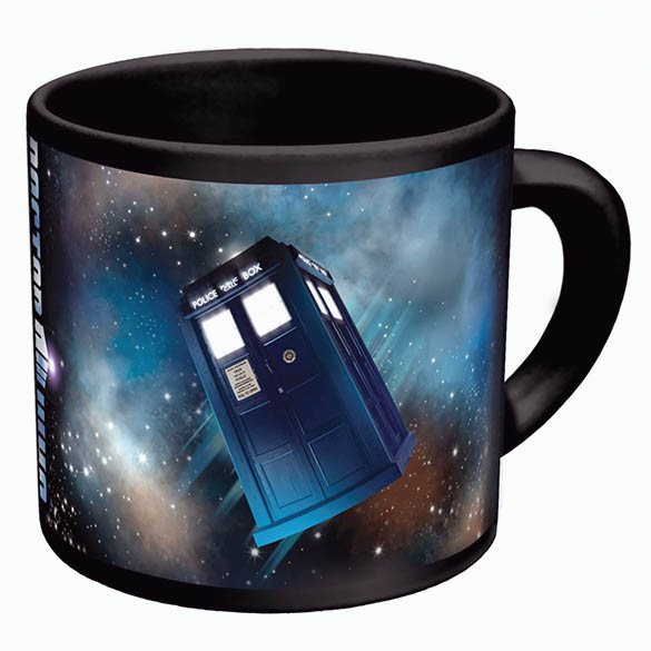 Doctor Who Disappearing TARDIS Mug - Heat Changing TARDIS Coffee Mug