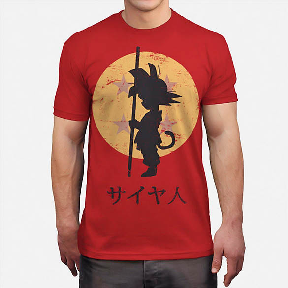 452f92d85f5b97 Dragon Ball Z Shirt - Goku - Looking For The Dragon Balls T-Shirt