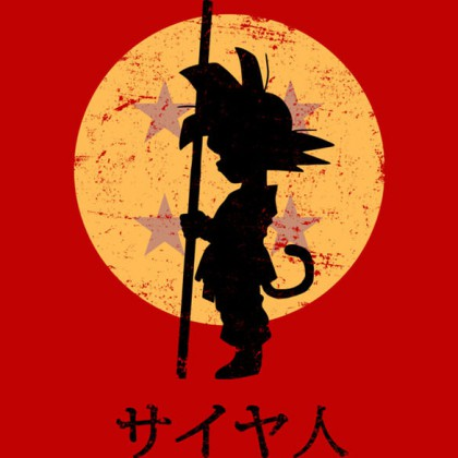 Dragon Ball Z Shirt - Goku - Looking For The Dragon Balls T-Shirt