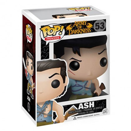 Evil Dead Ash Figure - Collectible Evil Dead Ash Pop! Bobblehead Figure