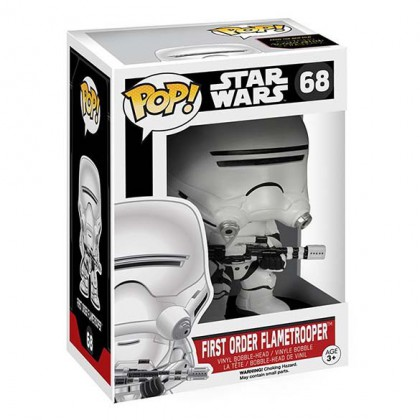 Flametrooper Pop! - Star Wars The Force Awakens - Star Wars Flametrooper Collectible Pop Bobblehead