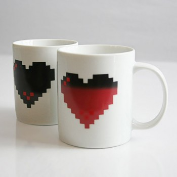 Heat Changing Pixel Life - Video Game Mug