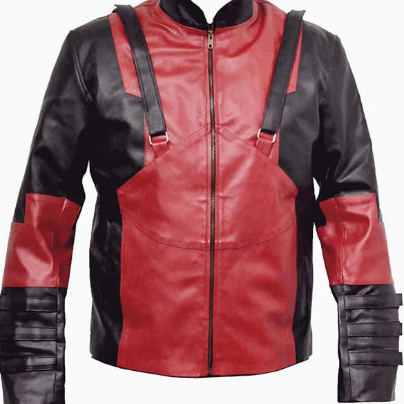 Genuine Leather Deadpool Jacket