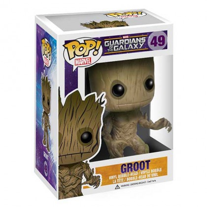 GOTG Groot Pop! - Guardians of the Galaxy Groot Bobblehead Collectible