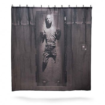 Han Solo Shower Curtain - Star Wars Shower Curtain