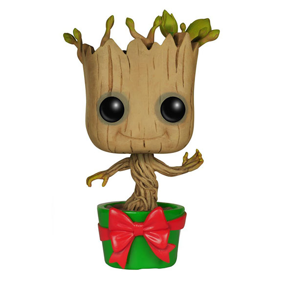 Holiday Dancing Groot Pop! Figure - Collectible Christmas Dancing Groot Bobblehead Figure