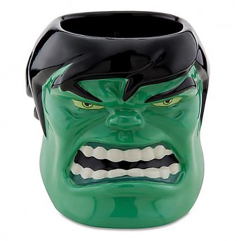 Hulk Coffee Mug - 3D Sculpted Hulk Mug