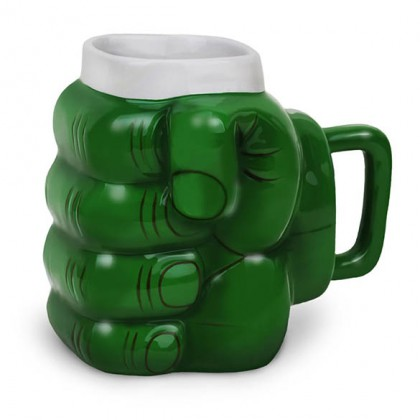 Hulk Coffee Mug - Marvel Avengers Incredible Hulk Hand Coffee Mug
