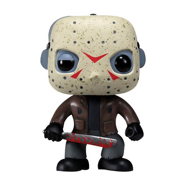 Jason Voorhees Pop! Figure - Friday the 13th Jason Voorhees Collectible Bobblehead Figure