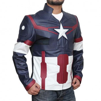Leather Captain America Jacket