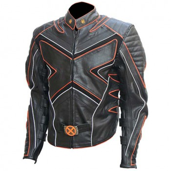 Leather Wolverine Jacket