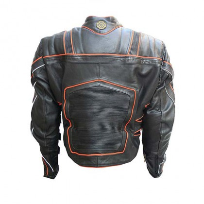 Leather Wolverine Jacket - Replica Of Wolverine's Leather Motorcycle Jacket In The X-Men Movies