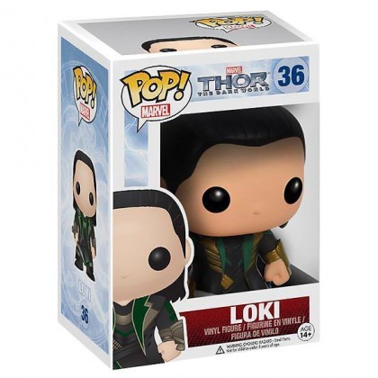Loki Pop! - Thor 2 Loki Pop! Collectible Bobblehead Figure