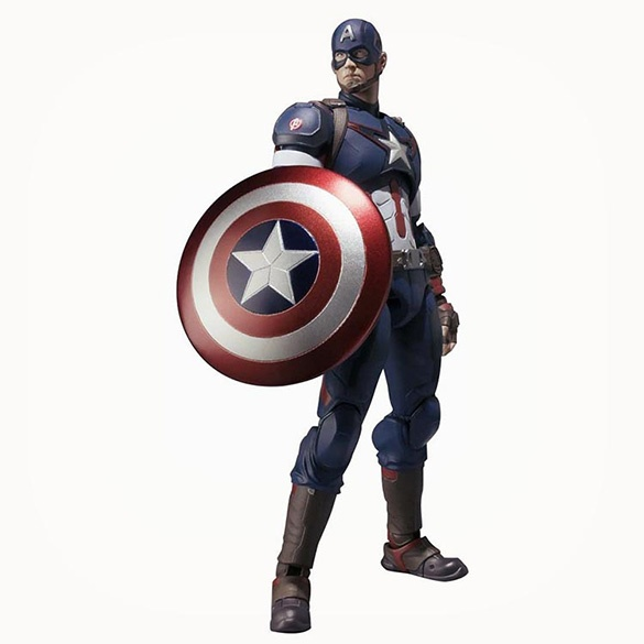 Captain America Action Figure - Marvel Avengers