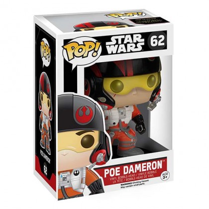 Poe Dameron Pop! - Star Wars The Force Awakens - Poe Dameron Pop Figure