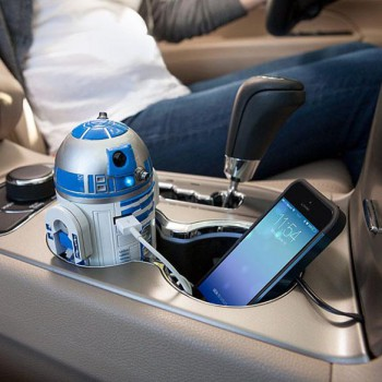 USB R2-D2 Car Charger - Star Wars Car Charger