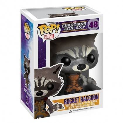 Rocket Raccoon Pop! - Marvel Guardians Of The Galaxy Bobblehead