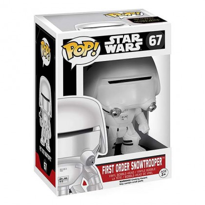 Snowtrooper Pop! - Star Wars The Force Awakens - Star Wars Snowtrooper Collectible Pop Bobblehead