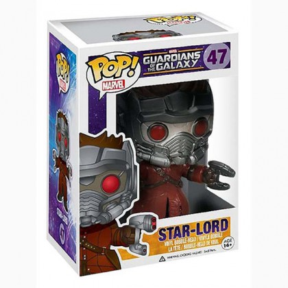 Star-Lord Pop! - Guardians of the Galaxy Star-Lord Bobblehead Collectible