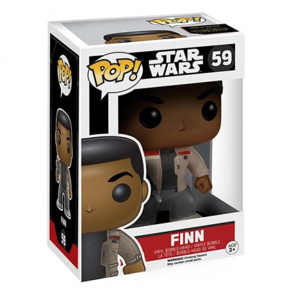 Star Wars Finn Pop! - The Force Awakens - Star Wars Finn Pop Bobblehead Collectible Figure