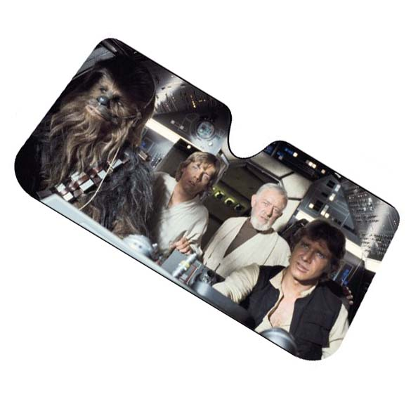 Star Wars Sunshade - Car Accessories and Gadgets - Star Wars Windshield Covering