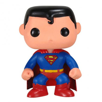 Superman Pop! Figure - Collectible DC Superman Bobblehead Figure