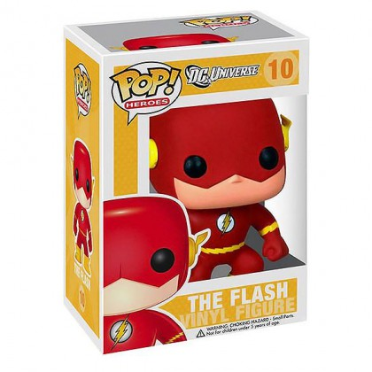 The Flash Pop! - Collectible Bobblehead Figure - DC Comics The Flash Pop! Figure