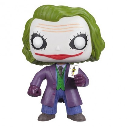 The Joker Pop! Figure - Collectible DC Comics The Dark Knight Joker Pop! Bobblehead