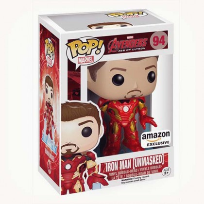 Iron Man Pop! Bobblehead Figure - Tony Stark Collectible Figure