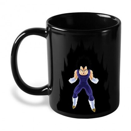 Vegeta Coffee Mug - Heat Changing Powerup Dragon Ball Z Vegeta Coffee Mug